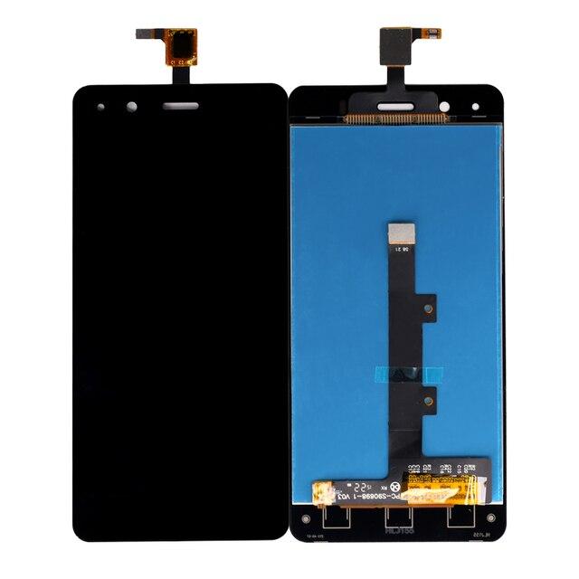 Para BQ Aquaris A4.5 Monitor LCD + Touch Screen Peças de Reparo Eletrônicos 4.5 Polegada Ferramenta Frete Grátis