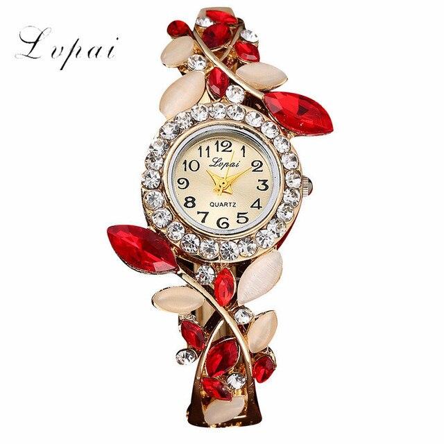 LVPAI Women Watch 2019 Fashion New Arrival Luxury Rhinstone Elegant Lady Watches