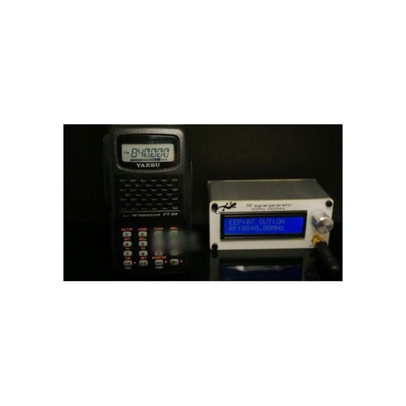 New 140MHZ-4400MHZ 5dBm RF Signal Generator Signal Source With Battery + Case New 140MHZ-4400MHZ 5dBm RF Signal Generator Signal Source With Battery + Case