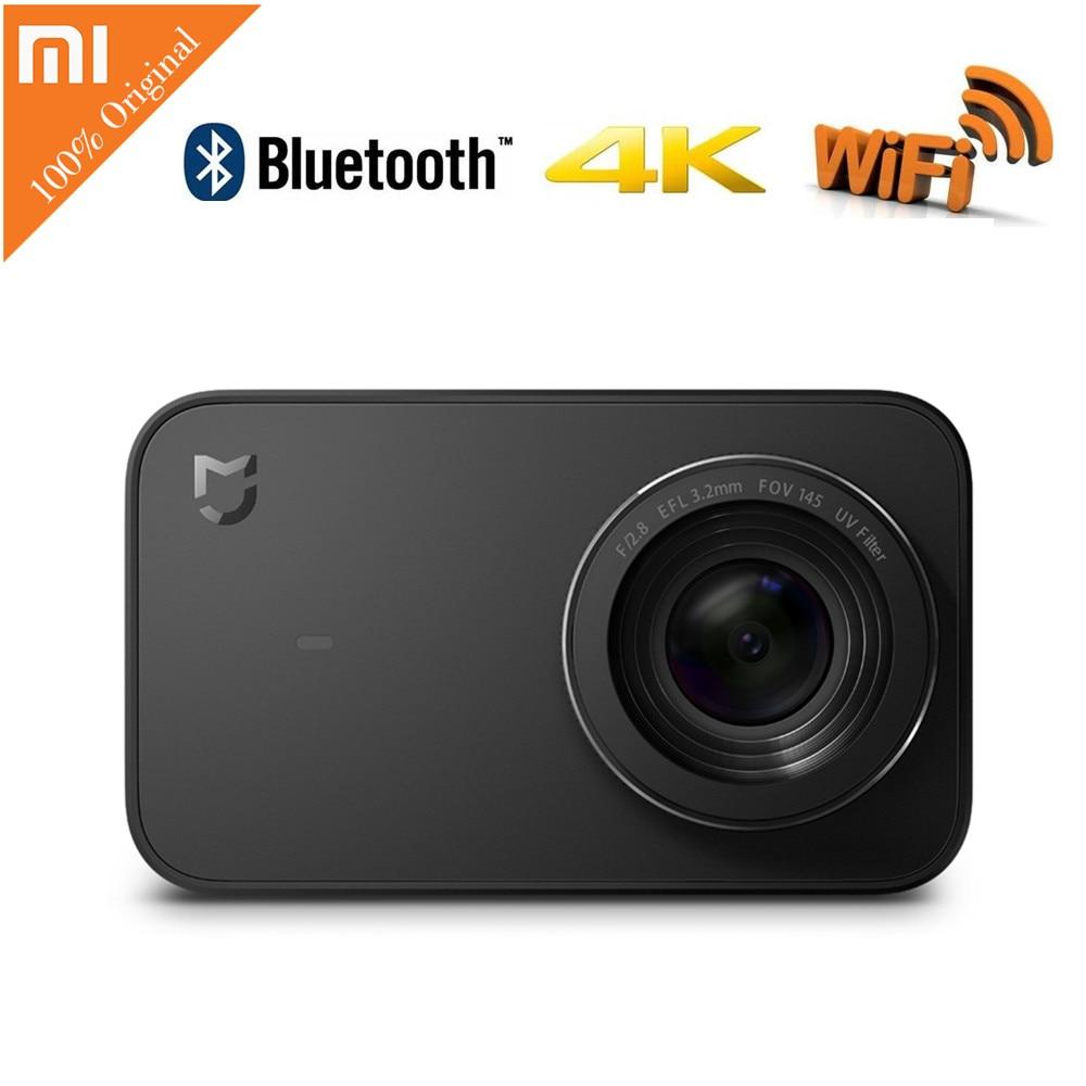 Xiaomi Mijia Mini Camera Cam 4K Sport Video Cam Recording WiFi Digital Consumer Cameras Bluetooth Ambarella A12S75 global version xiaomi mi sphere 360 panorama camera 23 88mp mijia camera action camera ambarella a12 3 5k video recording wifi