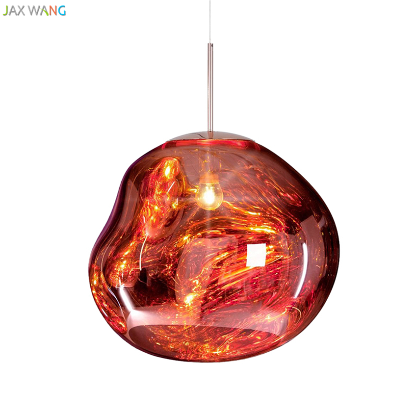 Post Modern Tom Dixon Melt Pendant Lights Glass Lava