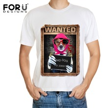 FORUDESIGNS Funny Animals Dogs Soccer Jersey Plus Size O Neck Tshirt for Sport Breathbale Sweat Mens Football Tracksuit 2016