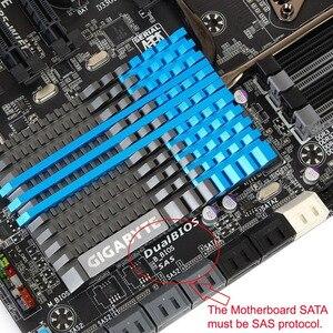 Image 3 - Professionele SFF 8482 SAS SATA 180 Graden Hoek Adapter Converter Rechte Hoofd voor moederbord