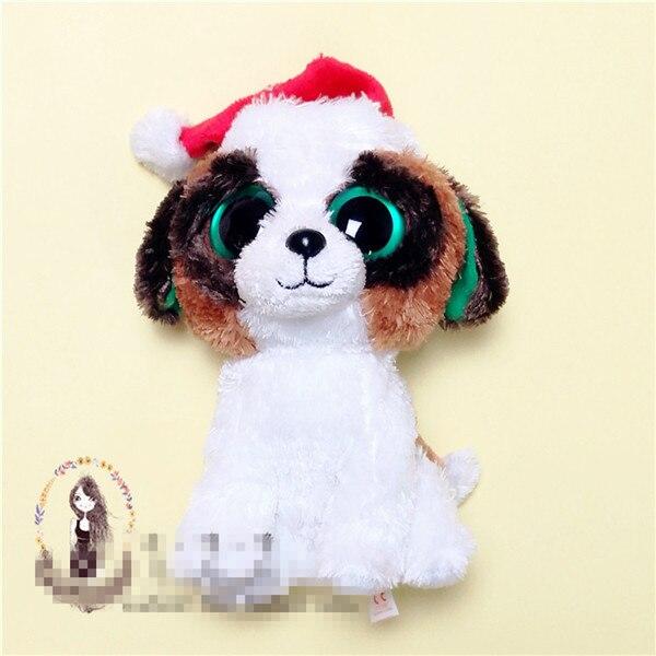 Christmas Dog Soft Stuff Plush Toy Doll