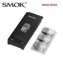 Original 3pcs/6pcs SMOK NOVO Replacement Pod 2ml Capacity for SMOK NOVO Kit Electronic Cigarette Pod System стоимость