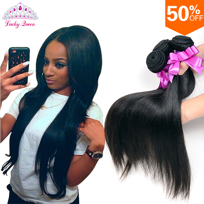 Peruvian Virgin Hair Straight 4 Bundles Deal Unprocessed Virgin Peruvian Straight Virgin Hair Human Hair Bundles
