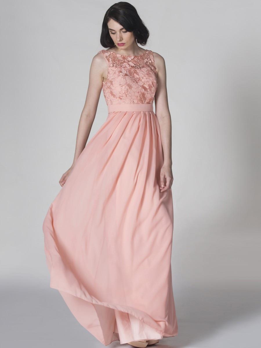 Bonito Vestidos De Dama De Oro Ligera Elaboración - Ideas de Vestido ...