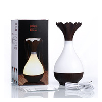 LED Essential Oil Ultrasonic Humidifier Air Aroma Diffuser Purifier Theapy Automatically Power Off LED Light Design