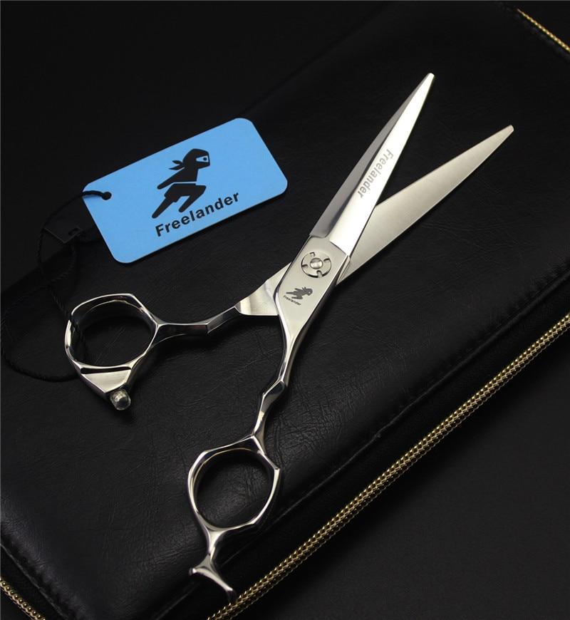6 inch Hair Cutting Professional Hairdressing Scissor Shear Titanium Salon Hair Scissor Stainless Steel Stylist Baber