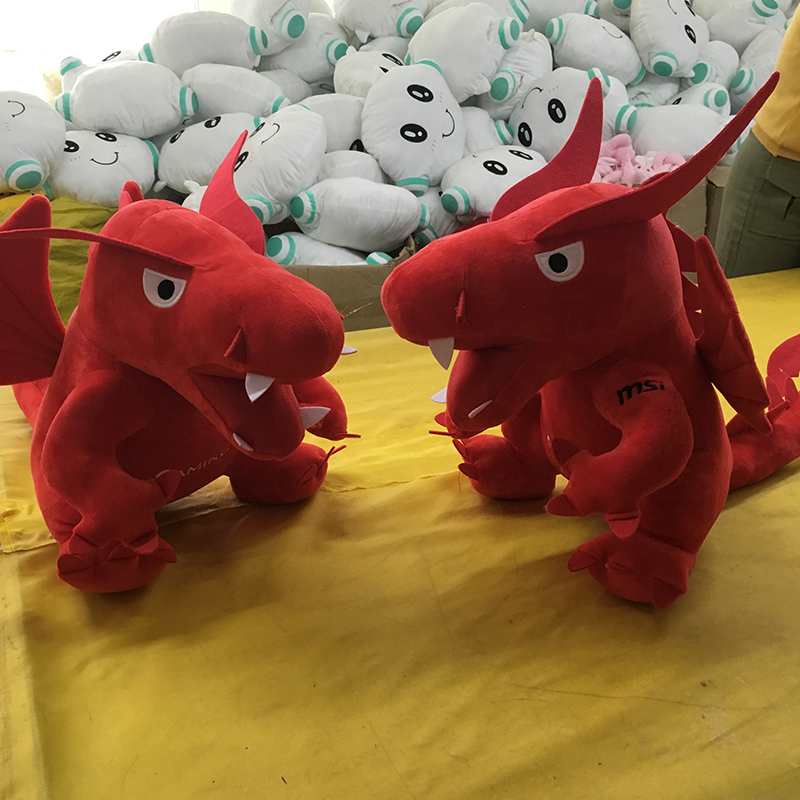 2018 45cm Big Kids Plush Toys Red Dinosaur Stuffed Animals & Plush Toys for Children Fire Dragon Animals & Plush Doll Baby Toys the little prince fox plush dolls 45cm le petit prince stuffed animal plush education toys for baby kids