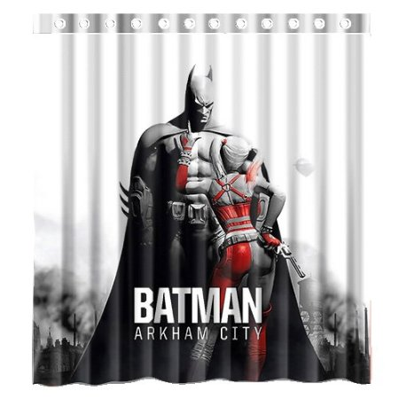 Batman Logo Arkham City Decors 160x180 CM high quality waterproof ...