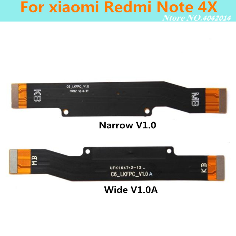 Original Charging Mainboard Data Interface Flex Cable For <font><b>xiaomi</b></font> <font><b>Redmi</b></font> <font><b>Note</b></font> <font><b>4X</b></font> <font><b>Motherboard</b></font> Connections Line Replacement parts image