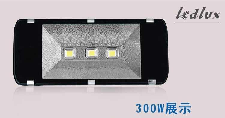 85-265 В 100 Вт 200 Вт 300 Вт 400 Вт СВЕТОДИОДНЫЙ Прожектор Уличные СВЕТОДИОДНЫЕ Наводнений Света Лампы Водонепроницаемый Industrial Light LED Проектор Лампы Тоннеля