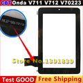 "Original 7"" Onda V711 V712 V702 Dual-Core Capacitive Touch Screen Digitizer With a Box HLD_PG708S PG706S + Free Shipping"