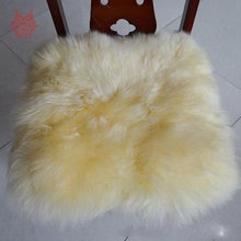 2015 New Fashion 45*45cm Square Seat Cushion Mat Soft Faux Fur Winter Chair  Cushion