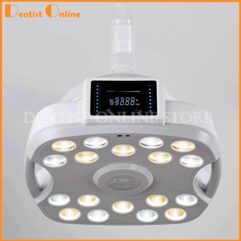 Хирургическая медицинская Светодиодная лампа для экзамена, Стоматологическая лампа с вращением на 360 градусов