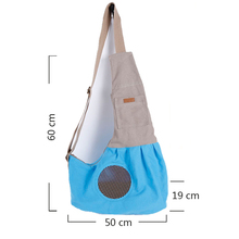 Portable Foldable Dogs Carrying Bags Canvas Breathable Slings Handbags For Small Pets Teddy Chihuahua Cat Puppy Dog Carriers