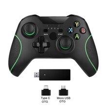 2,4G Wireless Controller Joystick Für Xbox Einer Konsole Steuerung Für PC Für Android telefon Gamepad