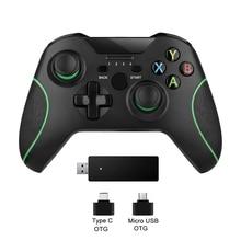 2.4G אלחוטי בקר ג ויסטיק עבור Xbox אחד קונסולת שליטה למחשב עבור אנדרואיד טלפון Gamepad