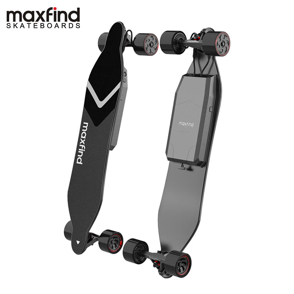 Maxfind longboard skate elétrico Max 4