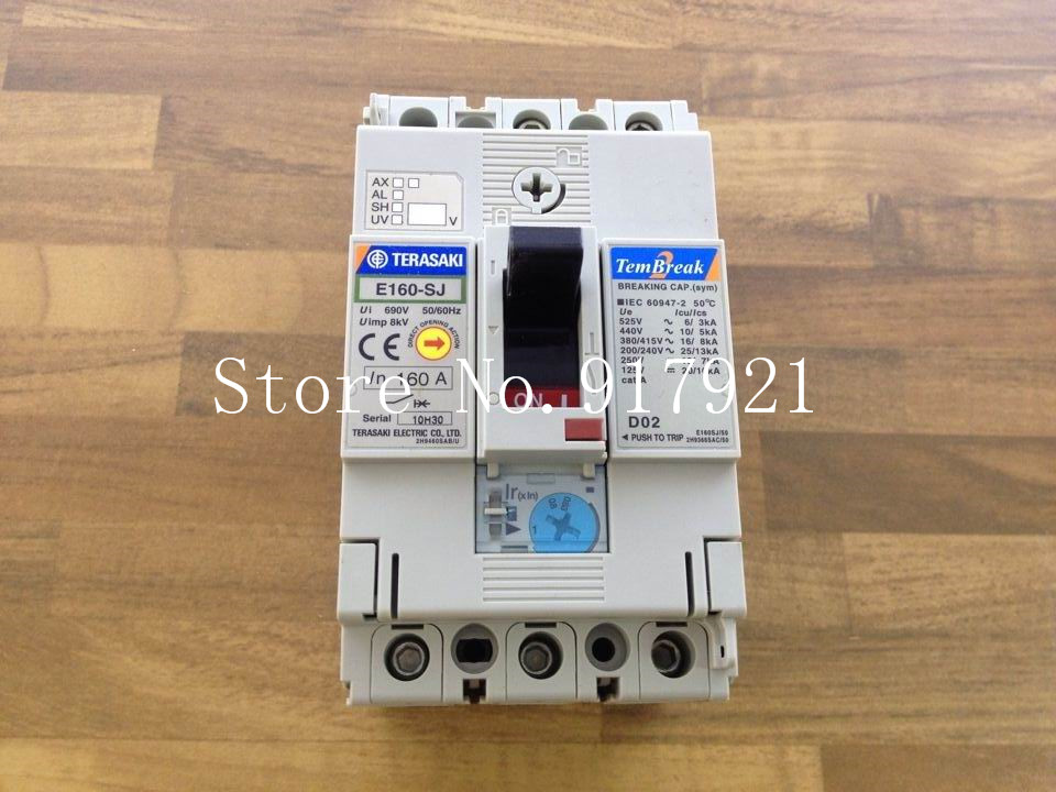 [ZOB] Japanese households on the air switch E160-SJ rated current adjustable 100-160A