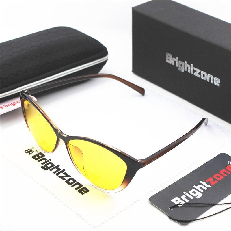 Brightzone Vintage Cat Eyes Blue Ray Blockers Reading Video Eyewear Readers Eye Glasses Anti Eyestrain Lens For Digital Screens