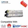 1 Pieces 1550Tx/1310Rx 155M SFP Single Fiber WDM  BIDI FP Optic Transceiver 20km With DDM