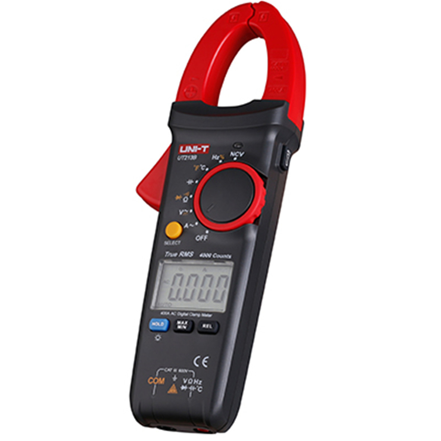 UNI-T UT213C AC DC 400A Digital Clamp Meters Voltage Resistance Capacitance Multimeter Auto Range multimetro Diode my68 handheld auto range digital multimeter dmm w capacitance frequency