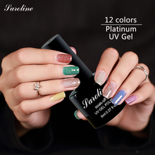 Saroline 8ml UV Platinum Color Hybrid Gel Nail Polish Art Tools 12colors LED Manicure Beauty Nail Long-lasting Soak Off