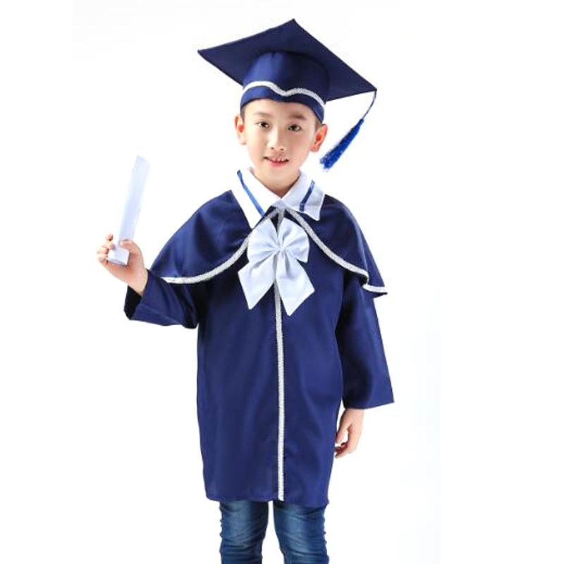 Academic Bachelor Gown School Uniforms Graduated Bachelor Suits and ...