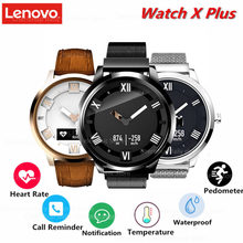 Lenovo Watch X plus OLED Gesture photography 8ATM waterproof sleep/heart rate monitoring call reminding Ultra-long Standby(China)