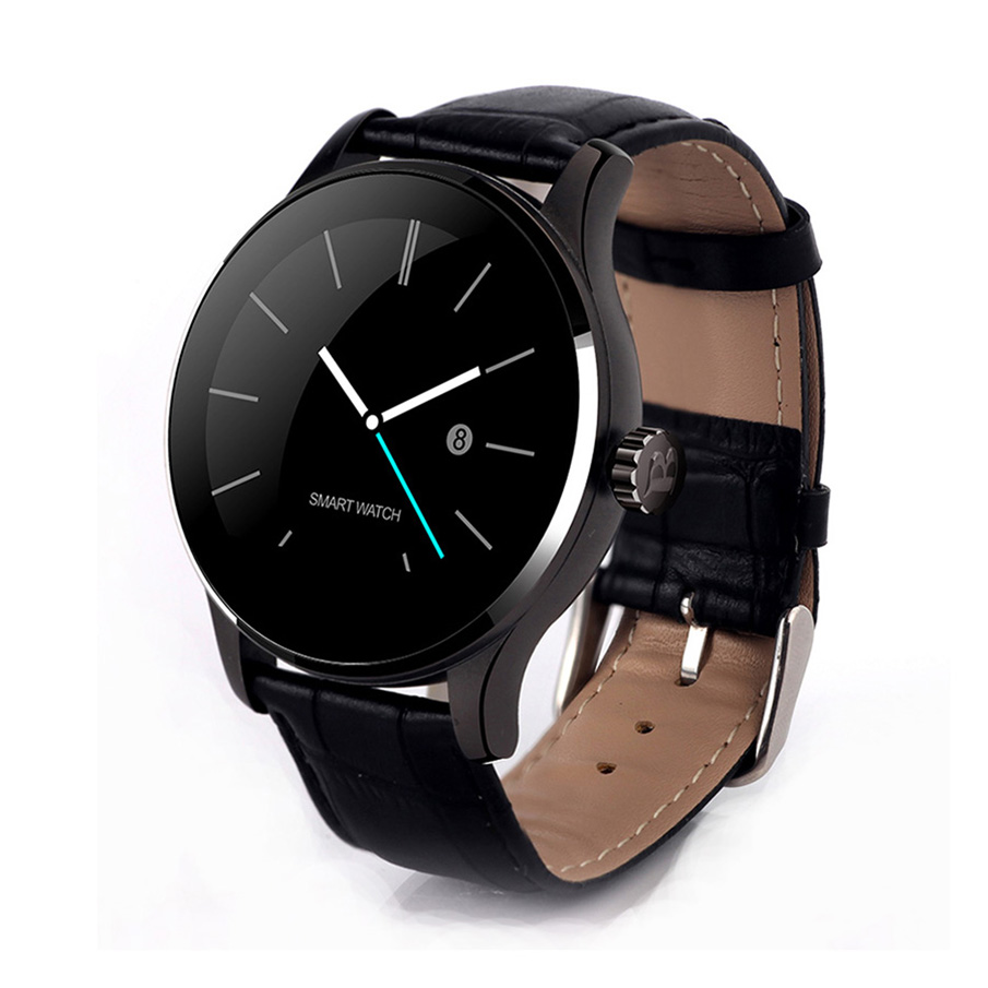Smart 2018 new stainless steel or Leather strap top Heart rate Pedometer Smartwatch Wristwatch wrist watches for women men color screen smart watch men woman heart rate pedometer 2018 new top stainless steel strap smartwatch wristwatch