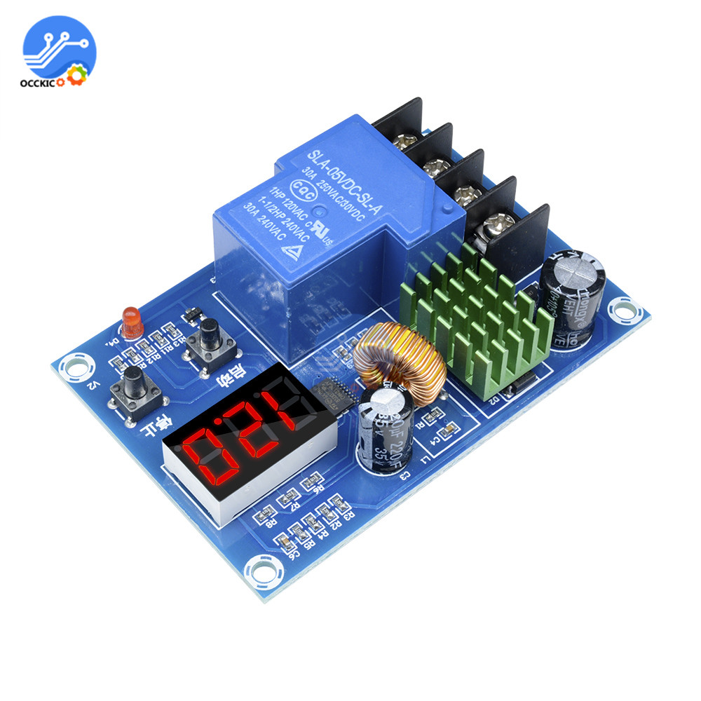 XH-M604 Battery Charger Controller Module Power Bank Balancer DC 6-60V Lithium Battery Charging Control Switch Protection Board