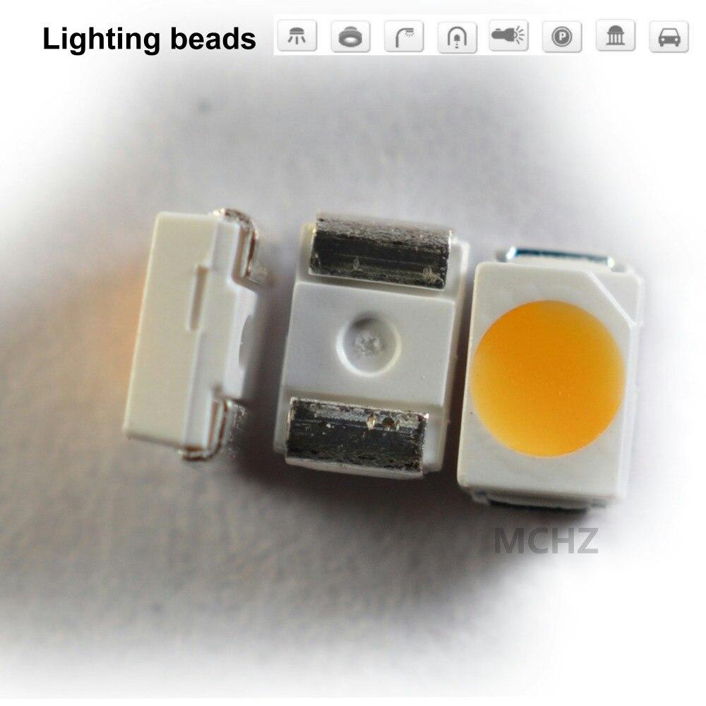 100pcs/LOT SMD LED 3020 Chip 0.2W 3V 60MA White Warm Cold 16LM CRI90 C9WT803