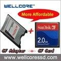 2017 Лучшее Качество И Низкая Цена CF Card reader PCMCIA К CF адаптер посвященный промышленное оборудование CF адаптер