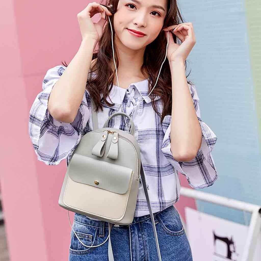 HTB135F3bbr1gK0jSZR0q6zP8XXaf New Designer Fashion Women Backpack Mini Soft Touch Multi-Function Small Backpack Female Ladies Shoulder Bag Girl Purse #YY