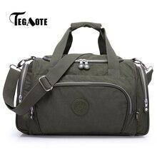 Tegaote sacos de viagem feminina bagagem duffle saco design bolsas alta qualidade bolsas feminia casual reistas senhoras 2020 sac a principal