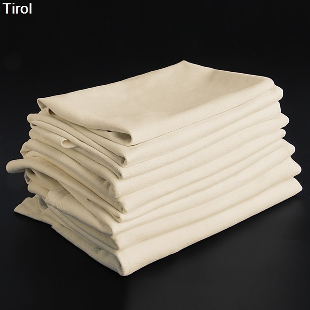 Tirol Natural Shammy Chamois Leather Car Cleaning Towels Drying Washing Cloth Maintenance Tools New