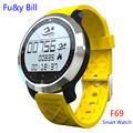 New Fashion F69 Bluetooth Smart Watch Heart Rate Monitoring Swimming Step Motion Statistics Smart Watches