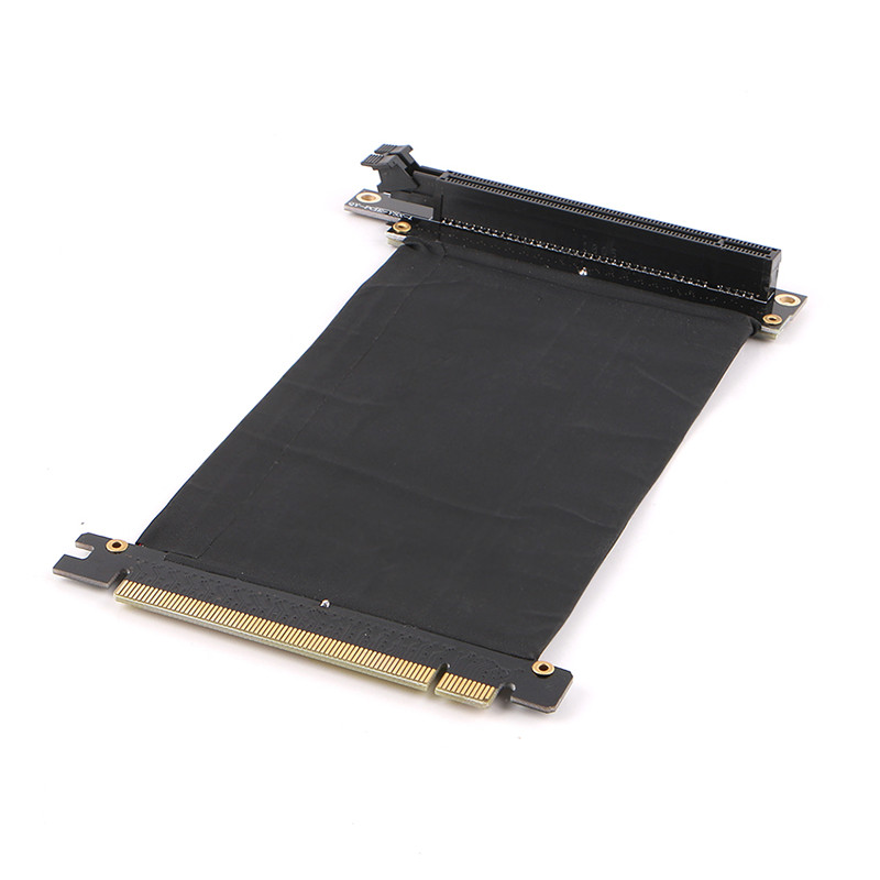 PCI Express 3.0 16x Flexible Cable Extension Port Adapter High Speed Riser Card