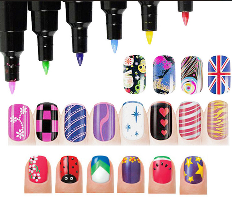 Diy Nail Polish Pen 16s Decoration Painting Brush Nails Design Tools In From Beauty Health On Aliexpress Alibaba Group