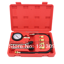 New Petrol Engine Cylinder Compressor Gauge Meter Test Pressure Compression Tester Leakage Diagnostic Diagnosis Tool Set