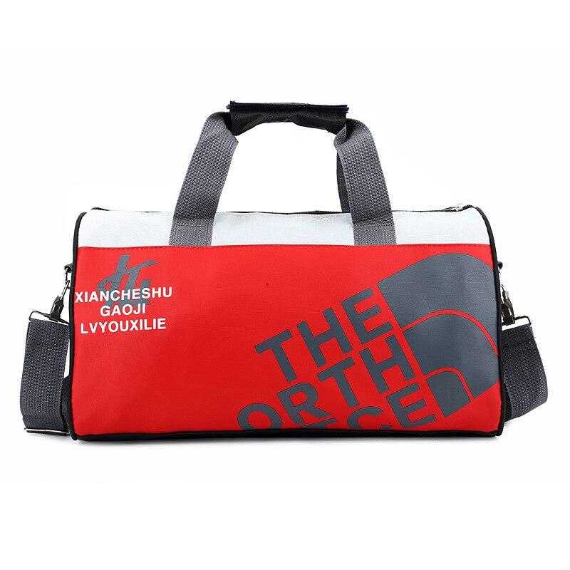 Женская и Мужская спортивная сумка для фитнеса, баскетбола, футбола, тренировок, тренажерного зала, бега, кемпинга, Холщовая Сумка на одно плечо, дорожные спортивные сумки-1