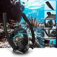 2020 New Diving Mask Scuba Mask Underwater Anti Fog Full Face Snorkeling Mask Women Men Kids Swimming Snorkel Diving Equipment