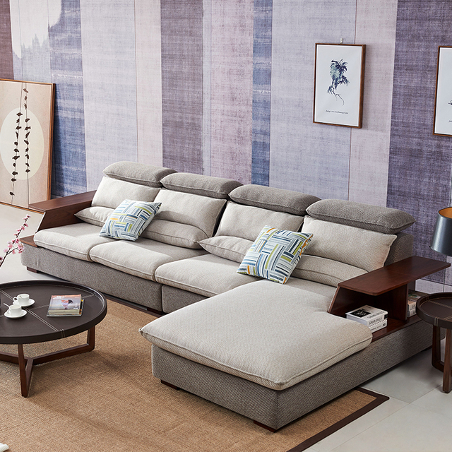 8812 Fabric Sofa Set Living Room Sofa Furniture Corner