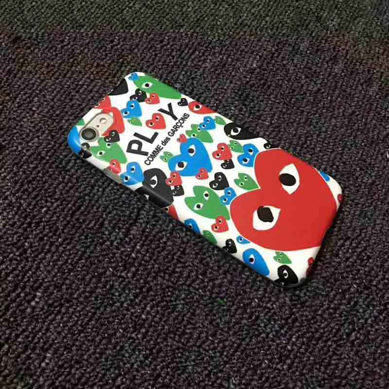ca7597b3e2cf74 ... For iPhone 7 7 Plus 6 6S Plus 4.7 Fashion Japan CDG PLAY Comme des  Garcons ...