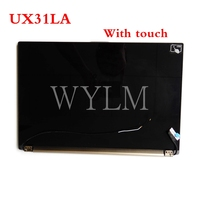 UX31LA LCD Display Screen Assembly Upper Half Set For Asus UX31LA UX31A With touch Laptop LCD screen assembly 13.3Tested