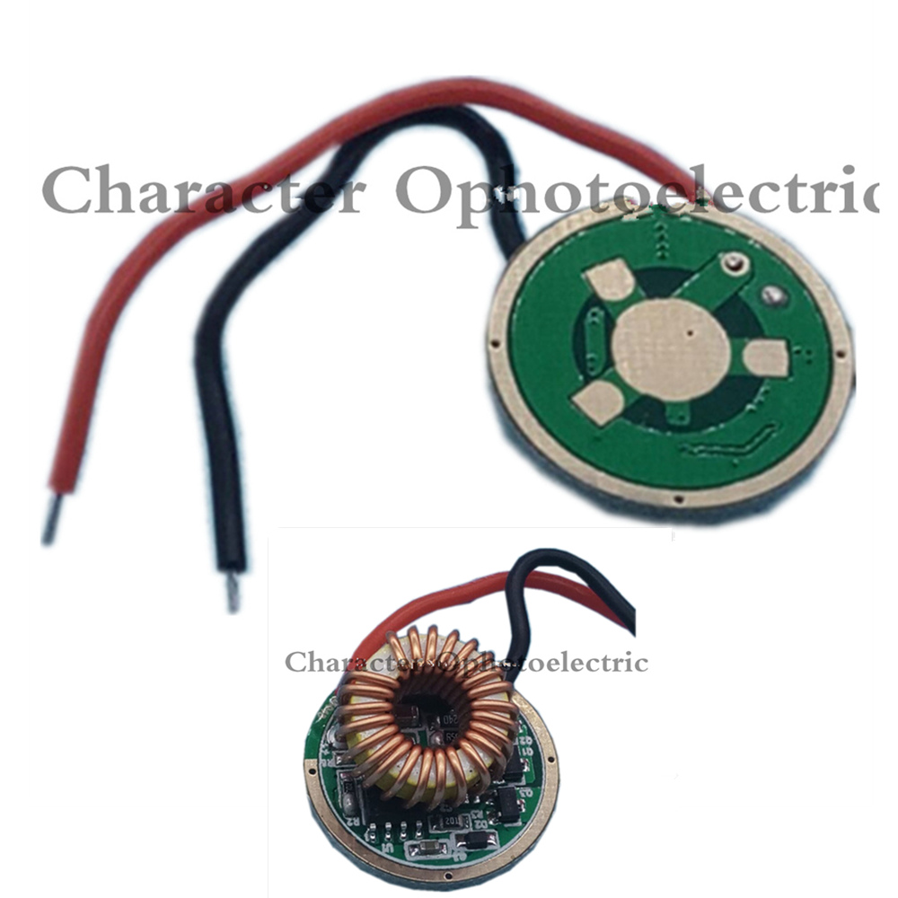 22mm 5 Modes 3 Modes 1 Mode XHP50 LED Driver Input DC7-15V Output DC6V 2.4A Used With Cree XHP50 6V LED Emitter Diode