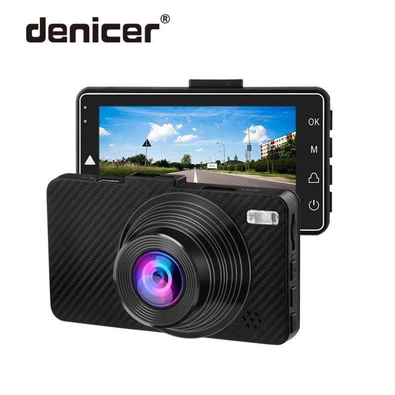 Denicer Dash Camera 1080p Full HD Dvr Novatek 96658 Car Cam 3 0 Inch Screen Auto