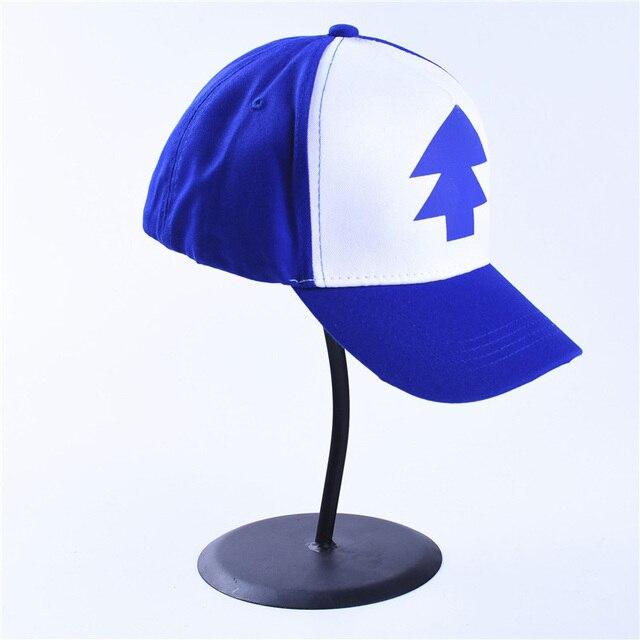 c063ecfb7f3 Gravity Falls Bill Dipper Hat Cap Anime BLUE PINE TREE Cartoon Trucker Cap  Fans Foam Mesh Trucker Hat Pink Heart shaped